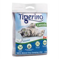 tigerino canada sensitive arena aglomerante - 2 x 12 kg - pack ahorro