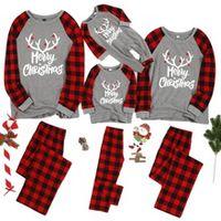 christmas pajamas set father momther kids baby family matching pajamas sets outfit christmas women men kids sleepwear nightwear