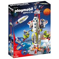 playmobil space mission rocket launch site with lights and sound 9488