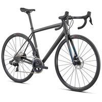 specialized bicicleta carretera aethos comp rival etap axs 61 satin carbon  teal tint fade  flake silver