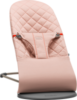babybjorn hamaca bliss bouncer bliss rosa palo cotton