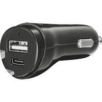 trust 21588 cargador de dispositivo movil auto negro