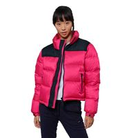 superdry sportstyle code down puffer s hot pink