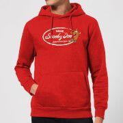 scooby doo cola hoodie - red - s - rojo