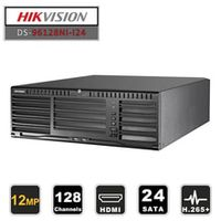 in stock hikvision professional 128ch cctv system ds-96128ni-i24 embedded nvr up to 12 megapixels resolution 24 sata 2 hdmi