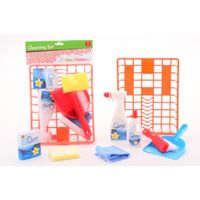 johntoy  home and kitchen - set de limpieza 8 uds