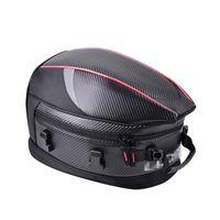 desmontable moto tail bolsa asiento trasero superior caso equipaje bolsillo de hombro caja