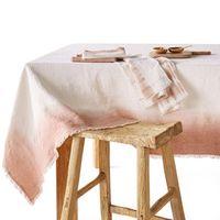 mantel de lino tie and dye sunrise