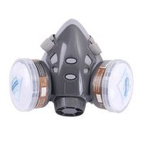 new premium 1set 308 half face respirator dust gas masks for painting spray pesticide chemical smoke fire protection