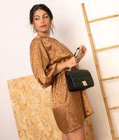 vestido dresden - camel