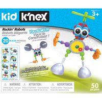kid knex - rockin robots building set