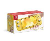nintendo switch lite amarillo - 55 32gb wifi bt 44 usb-c