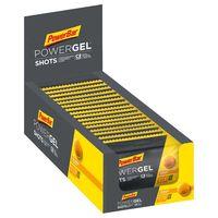 suplementacion deportiva powerbar powergel shots 60gr x 16 units