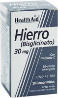 health aid hierro biglicinato 30 mg 30 comp