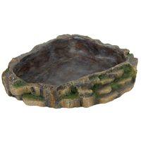 trixie cuenco de alimento para reptiles 24x20 cm resina de poliester