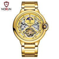 nobjn men watch reloj mecanico