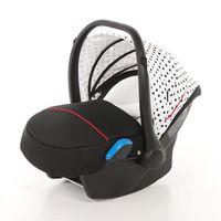 knorr-baby  portabebes milan para voletto pincelada blanco-negro