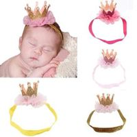 soft headband baby cute girl head accessories hairband baby elastic flower crown headwear high quality gift drop shipping 0m-3t