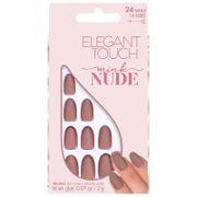 unas nude collection de elegant touch - mink