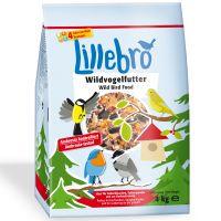 lillebro comida para aves silvestres - 3 x 4 kg