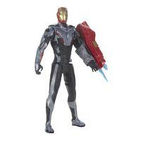 los vengadores - iron man - figura 30 cm titan hero power fx