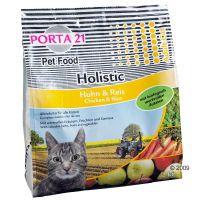 porta 21 holistic cat con pollo y arroz - 9  1 kg gratis