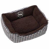 dd cojin cama para mascota sweet checker 60x50x20 cm 671438084
