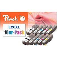 peach 0f319985 cartucho de tinta foto negro multipack 10 piezas