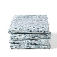 lote de 4 manteles de algodon lavado ydra