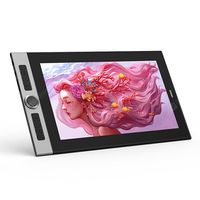 ugee painted shadow y160f full fit hd digital screen graphics tablet hand-painted board computer drawing display -  black