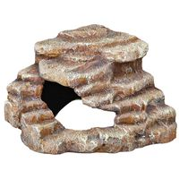 trixie roca esquinera 27x21x27 cm resina de poliester 76208
