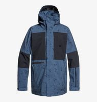 command - chaqueta de snowboard comprimible para hombre - azul - dc shoes