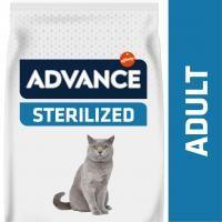 advance sterilized adult con pavo - 15 kg