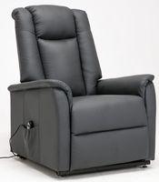 sillon relax electrico piel sintetica max