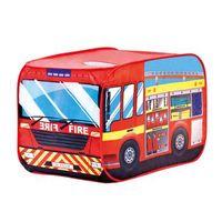 bino  carpa de juegos - cuerpo de bomberos auto - de colores