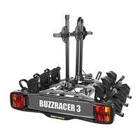 buzzrack portabicicletas buzzracer para 3 bicicletas 3 bikes black