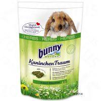 comida bunny kaninchen traum herbs para conejos - 4 kg