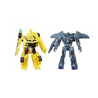 transformers - bumblebee y megatron - pack 2 figuras legion transformers 5