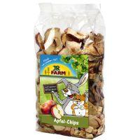 jr farm chips de manzana - 250 g