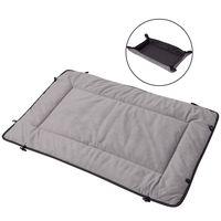 vidaxl cama-estera para perro gris 65x100 cm
