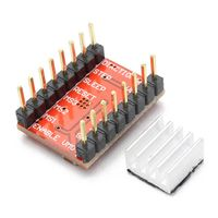 3unids geekcreit a4988 reprap modulo de controlador de motor de pasos para la impresora 3d