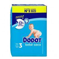 dodot bebe seco talla 3 compuesta por 42 unidades