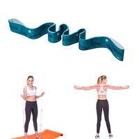 1 pieza 8 orificios nylon bandas de resistencia inicio yoga entrenamiento elastico cinturon aptitud bandas de fuerza