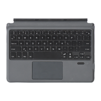universal 1087d bluetooth teclado para tableta microsoft surface go