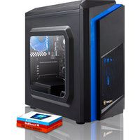 fierce exile pc gamer - rapido 37ghz quad-core amd ryzen 3 2200g 1tb disco duro 8gb de 2666mhz amd radeon vega 8 graficos integrados windows 10 instalado 406304