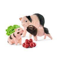 schleich mini madre cerdo y ferkel 42422