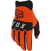fox racing dirtpaw race gloves 2020 - fluorescent orange - xl fluorescent orange