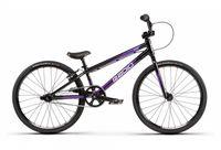 radio bikes xenon junior bicicleta completa bmx 18 5  negro   morado metalizado 2020