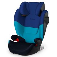 cybex silver silla de coche solution m-fix luna azul