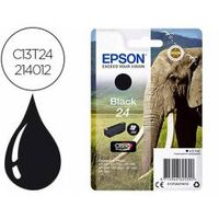cartucho epson 24 color negro c13t24214012